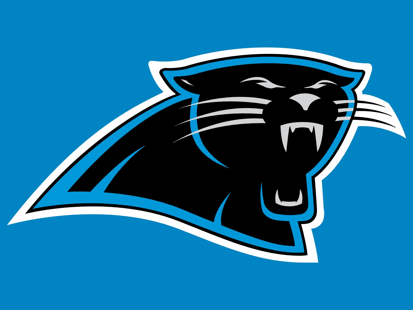 1365x1024px Carolina Panthers Logo Wallpaper.