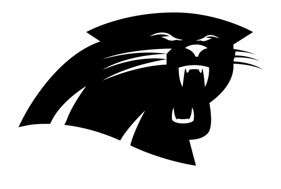 Clipart Royalty Free Library Carolina Panthers Filled.