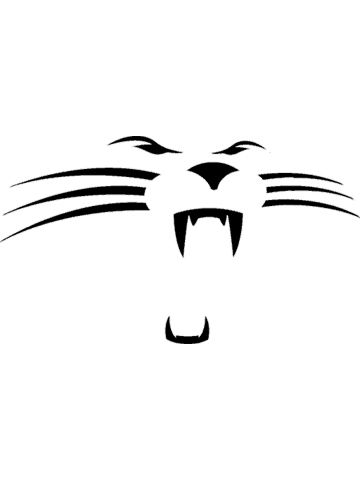 Collection of Carolina panthers clipart.
