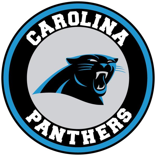 Details about Carolina Panthers Circle Logo Vinyl Decal / Sticker 10 sizes!!.
