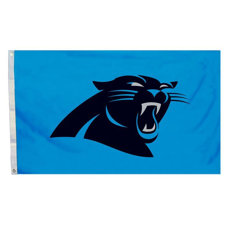 Carolina Panthers 3\' x 5\' Logo Flag.