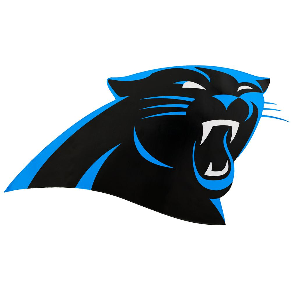 NFL Carolina Panthers Outdoor Logo Graphic.