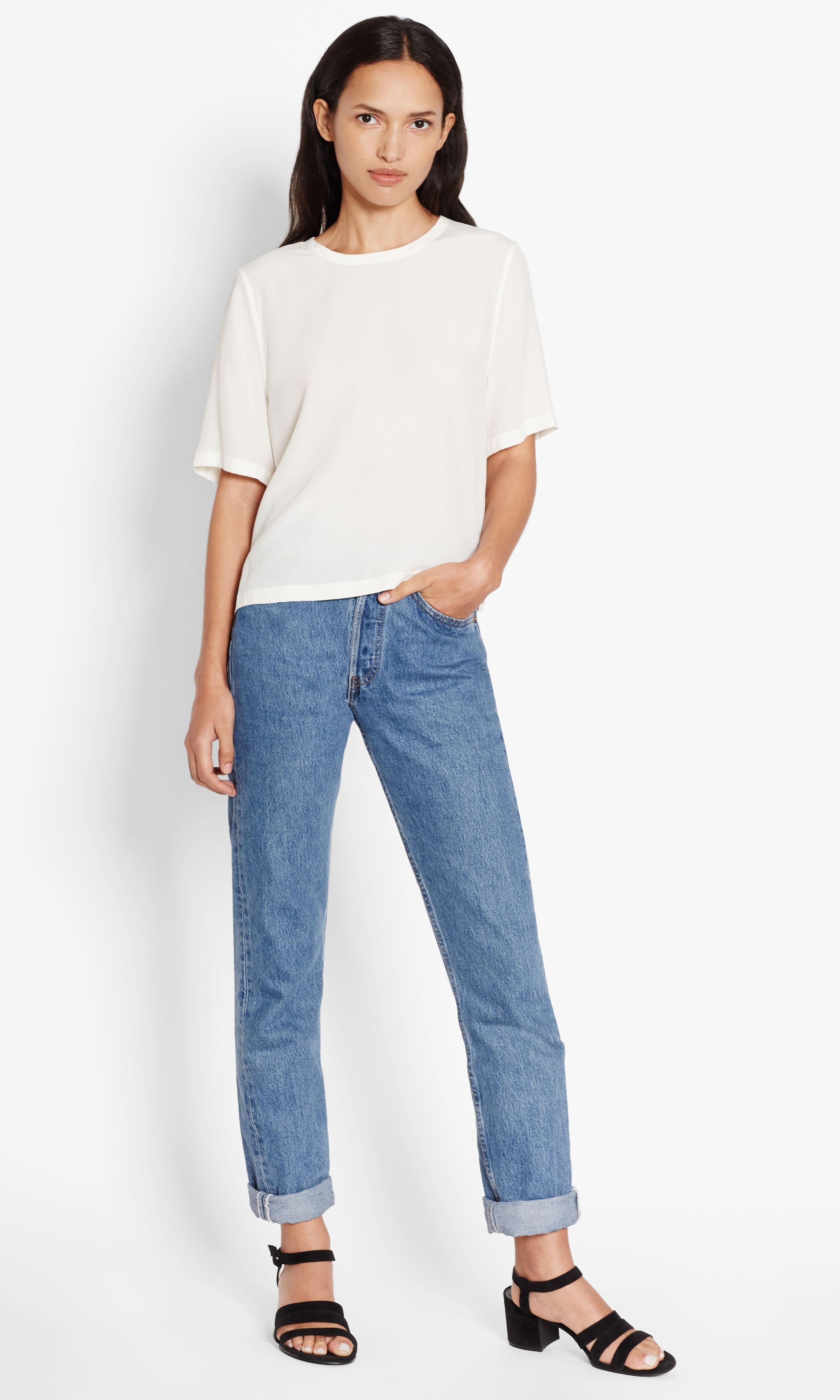 Women's Designer Short Sleeve Shirts.