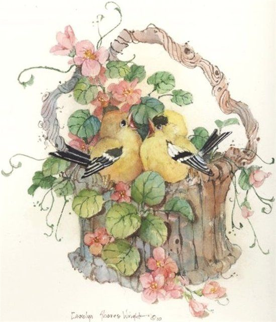 17 Best images about Art of Carolyn Shores Wright on Pinterest.