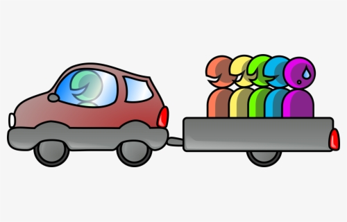 Free Carpool Clip Art with No Background.