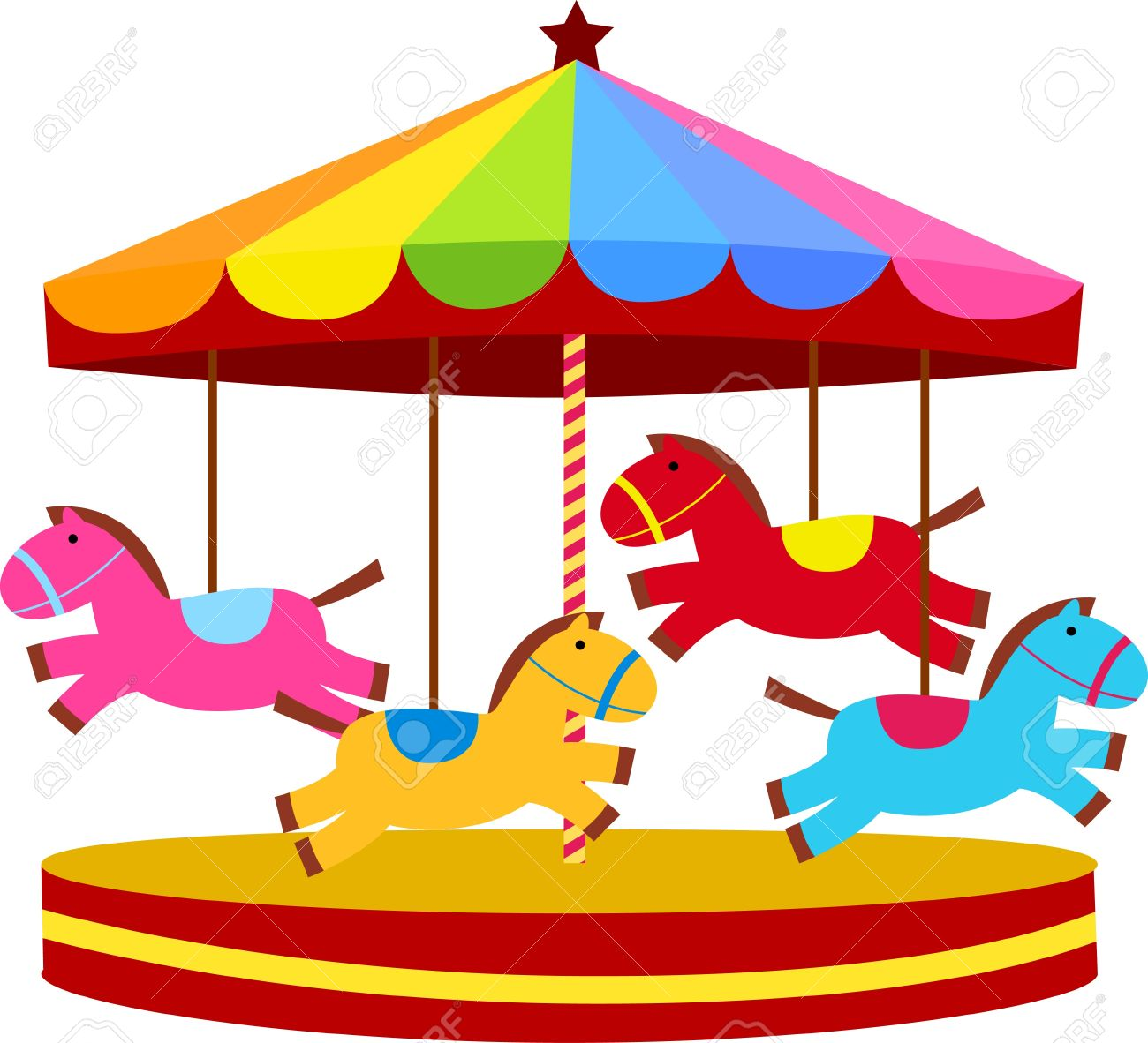 Carousel clipart 1 » Clipart Station.