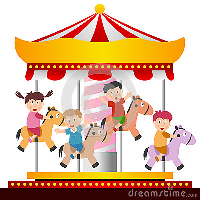 Carousel Stock Illustrations.