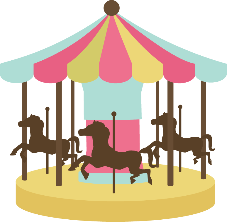 Free Black And White Carousel Clipart, Download Free Clip.