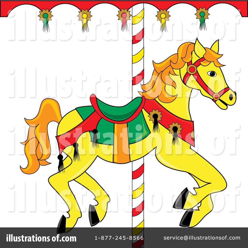 Carousel Horse Clipart #76485.