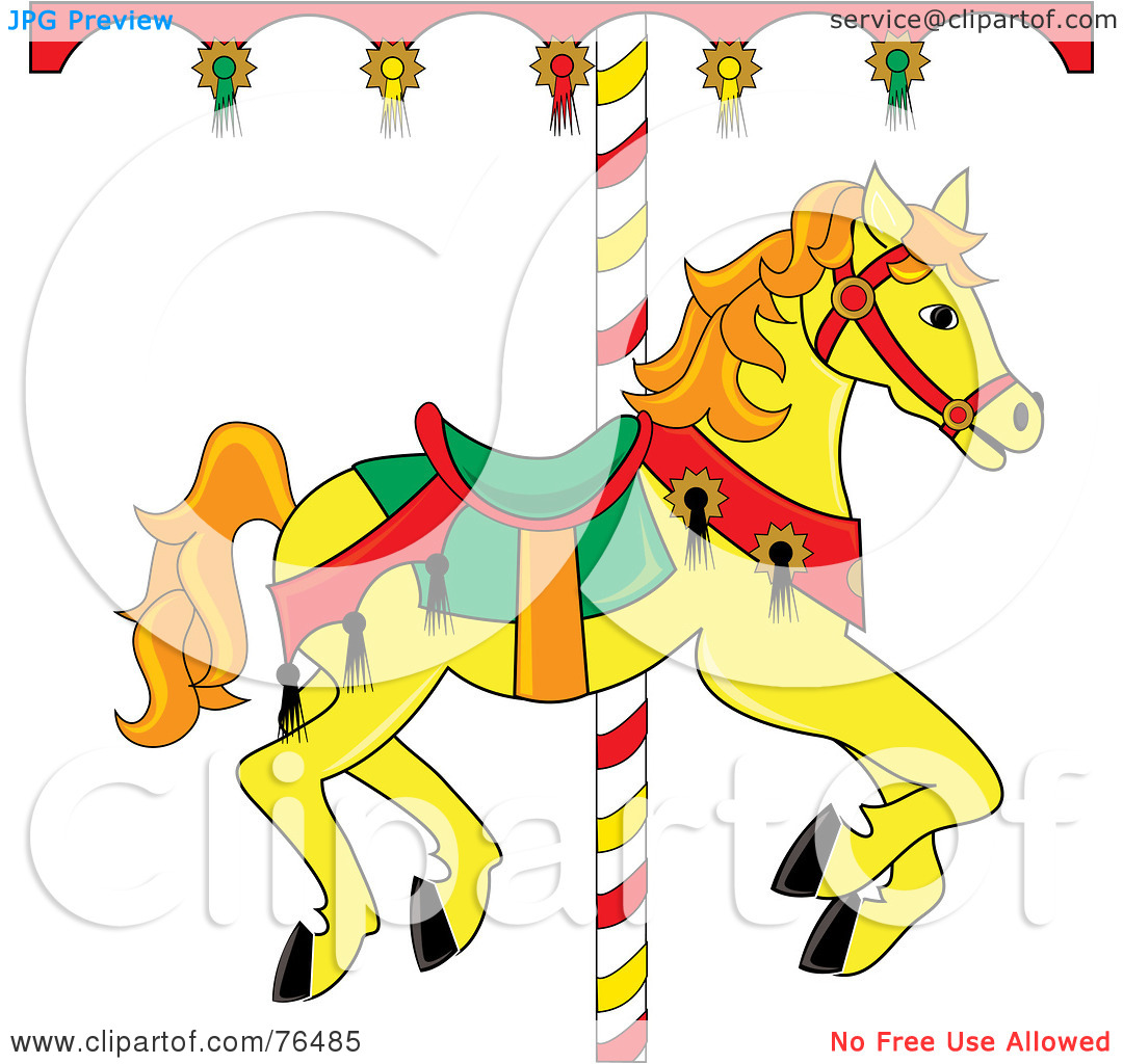 carousel horse clipart clipground