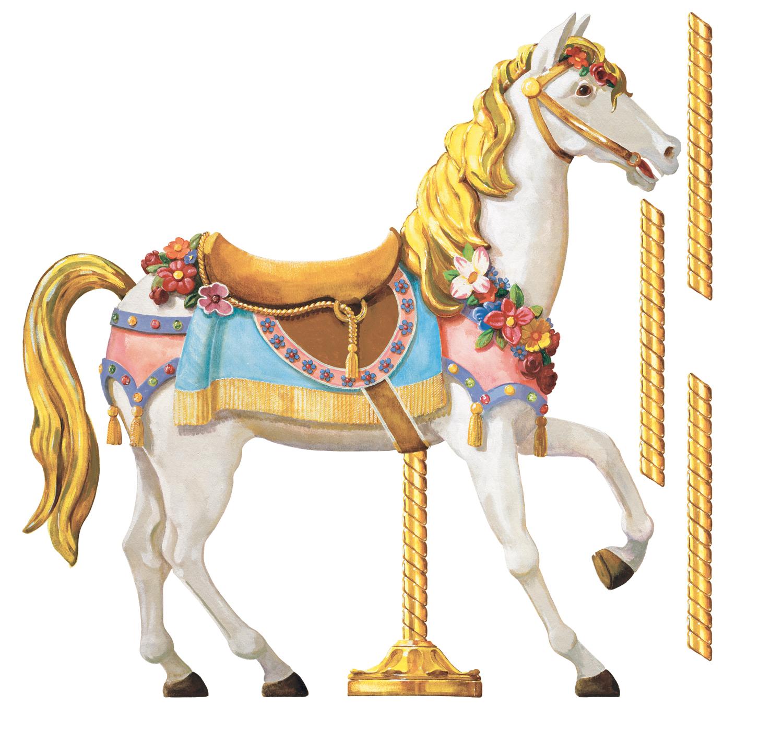 Carneval Clipart Horse Carousel #8.
