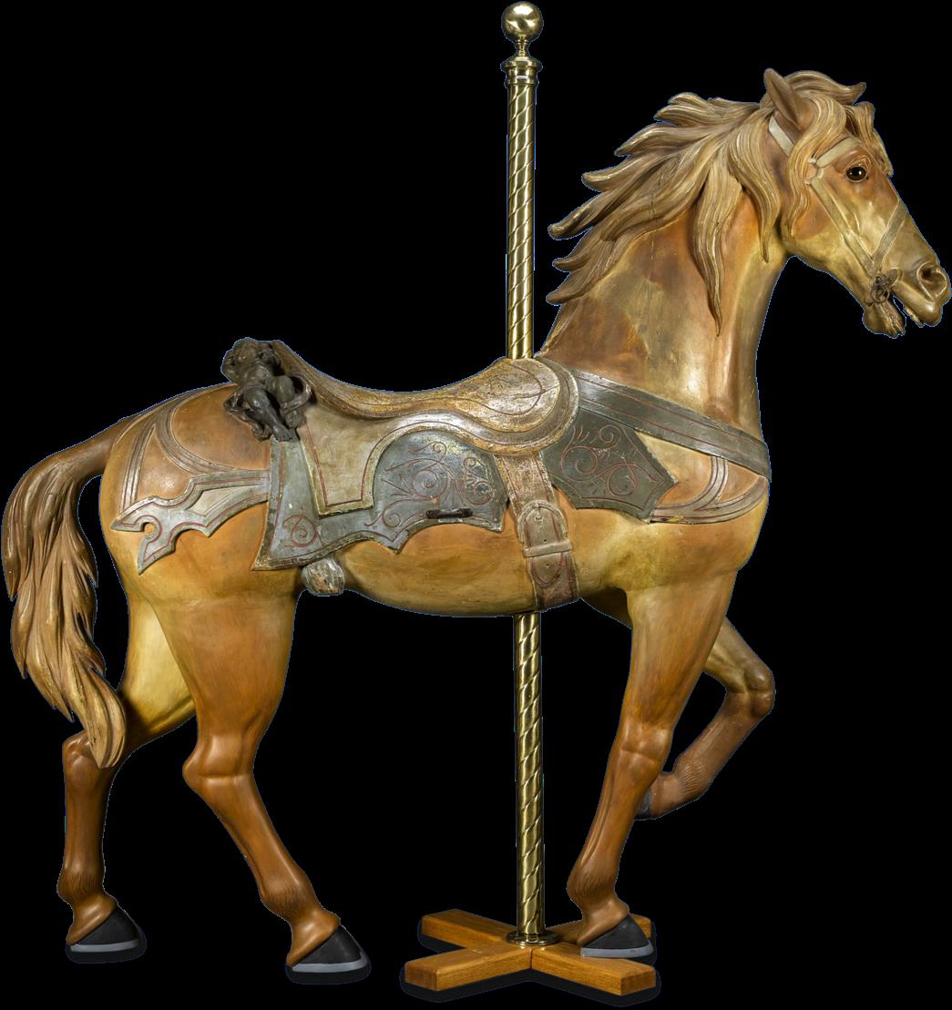 HD Philadelphia Toboggan Company Carousel Horse.
