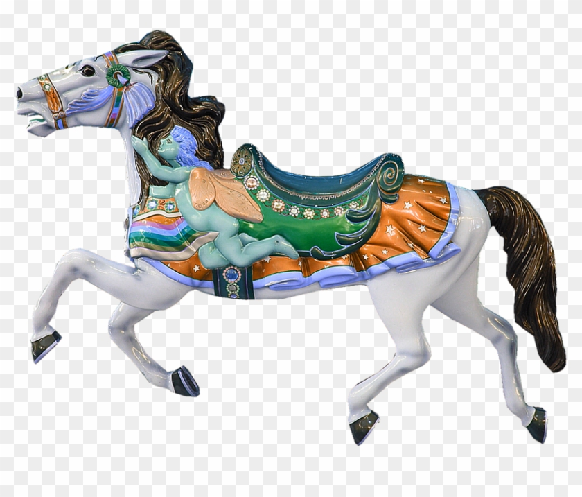 Carousel Horse Carousel Horse Ride Turn.