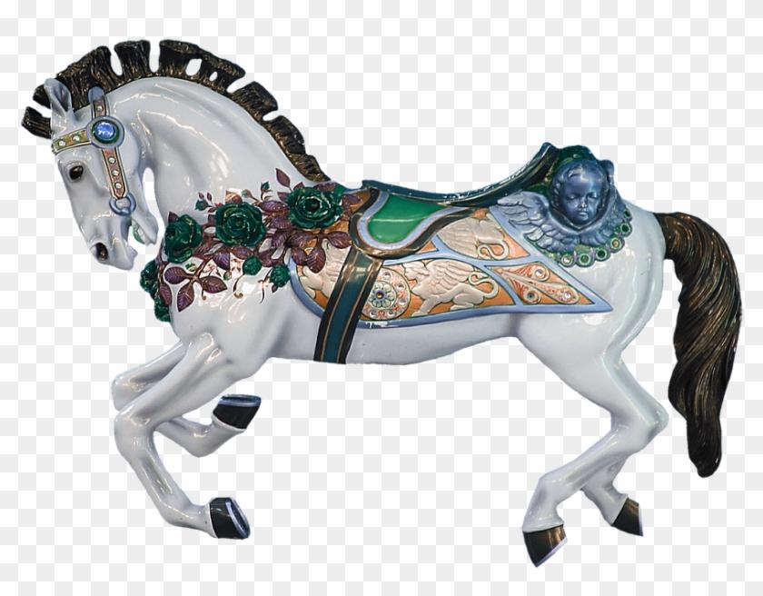 Carousel Horse, Carousel, Horse, Ride, Turn.