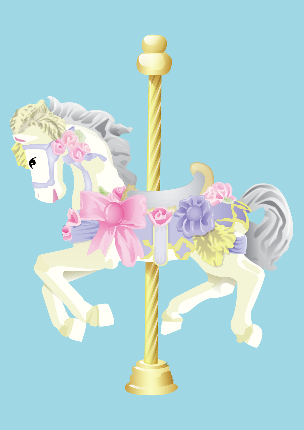 Carousel Horse PNG HD Transparent Carousel Horse HD.PNG Images.
