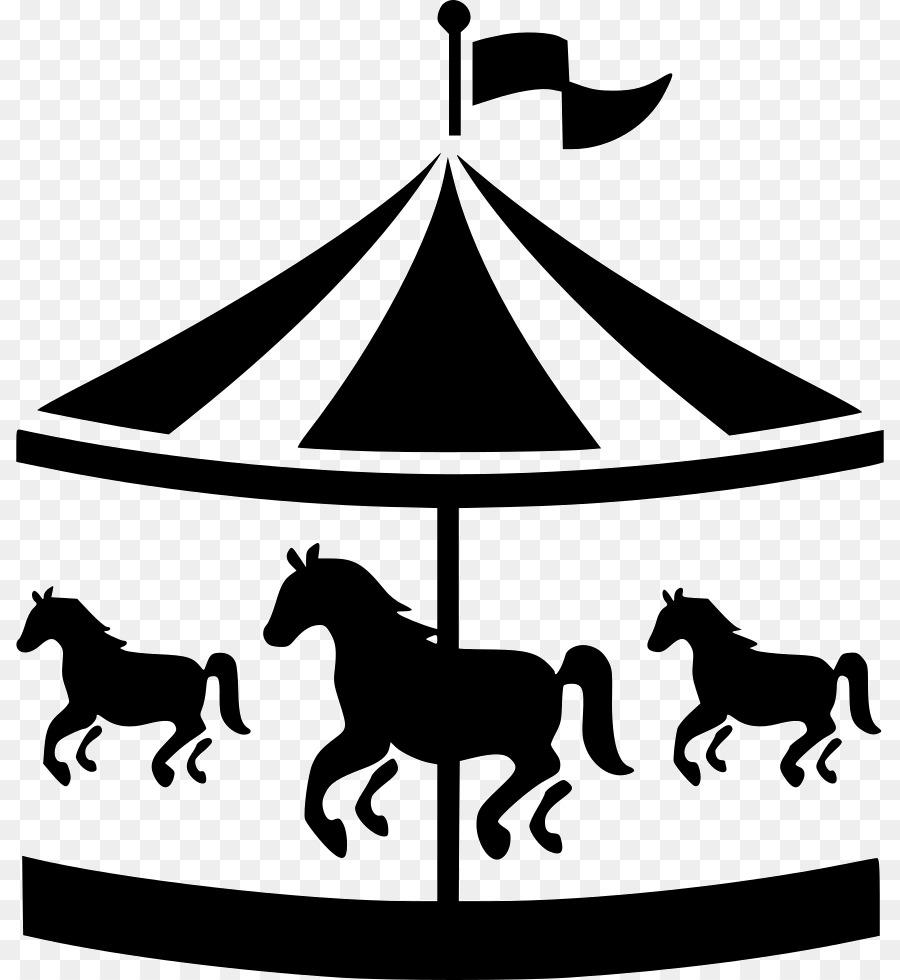 Free Carousel Horse Silhouette Clip Art, Download Free Clip Art.