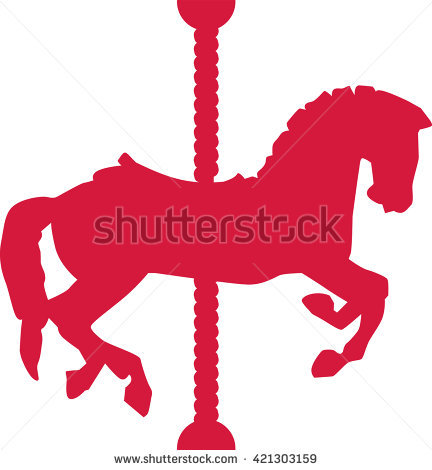 Carousel Horse Stock Images, Royalty.
