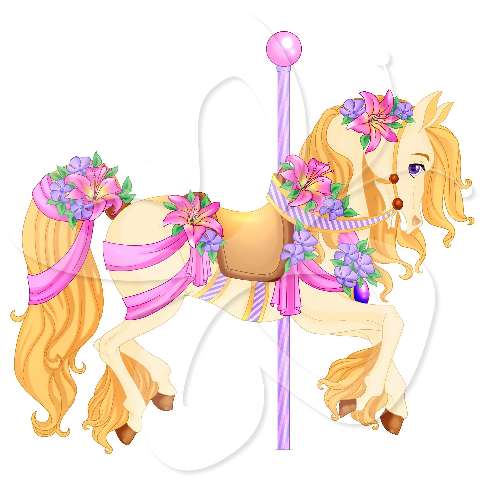 Carousel Horse Clipart & Carousel Horse Clip Art Images.