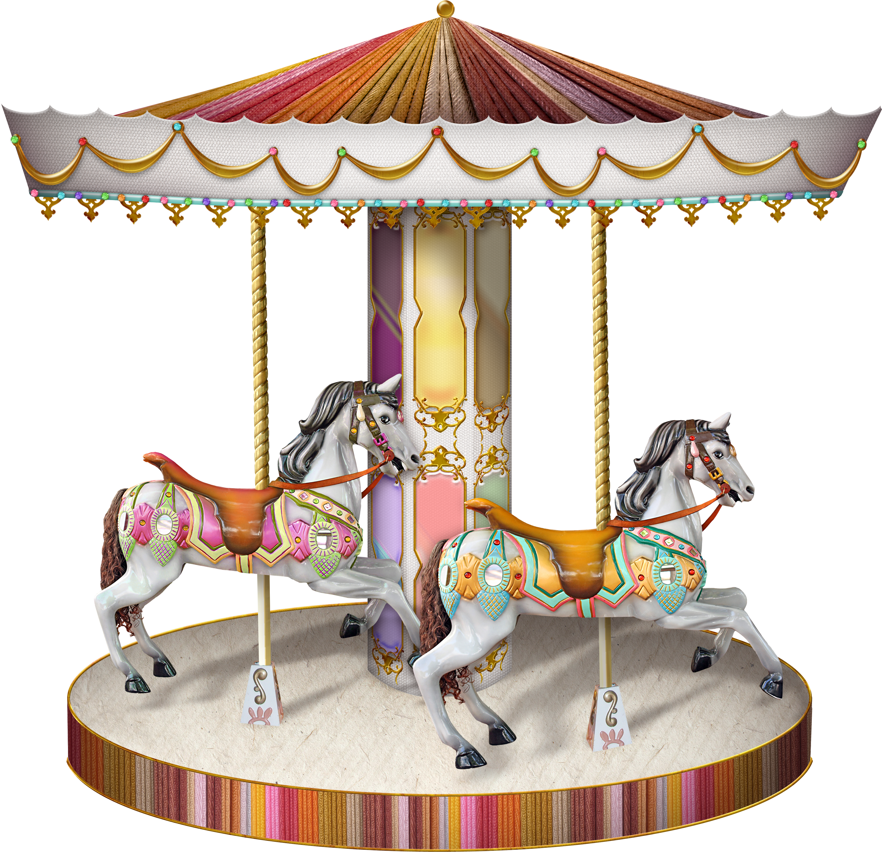 Carousel PNG images free download.