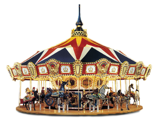 Arnolds Park debuting 'show stopper' giant carousel this summer.