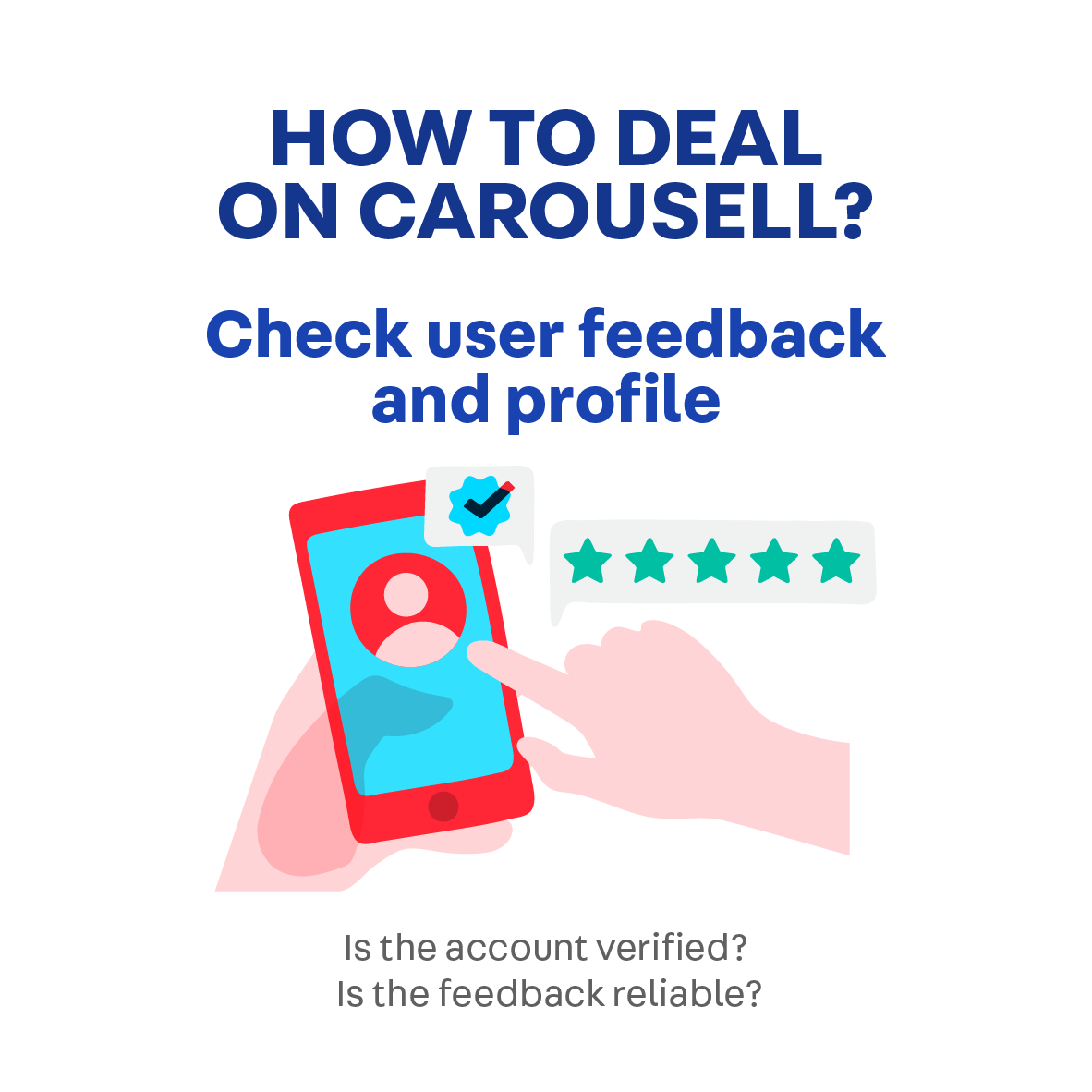 How to deal safely on Carousell.