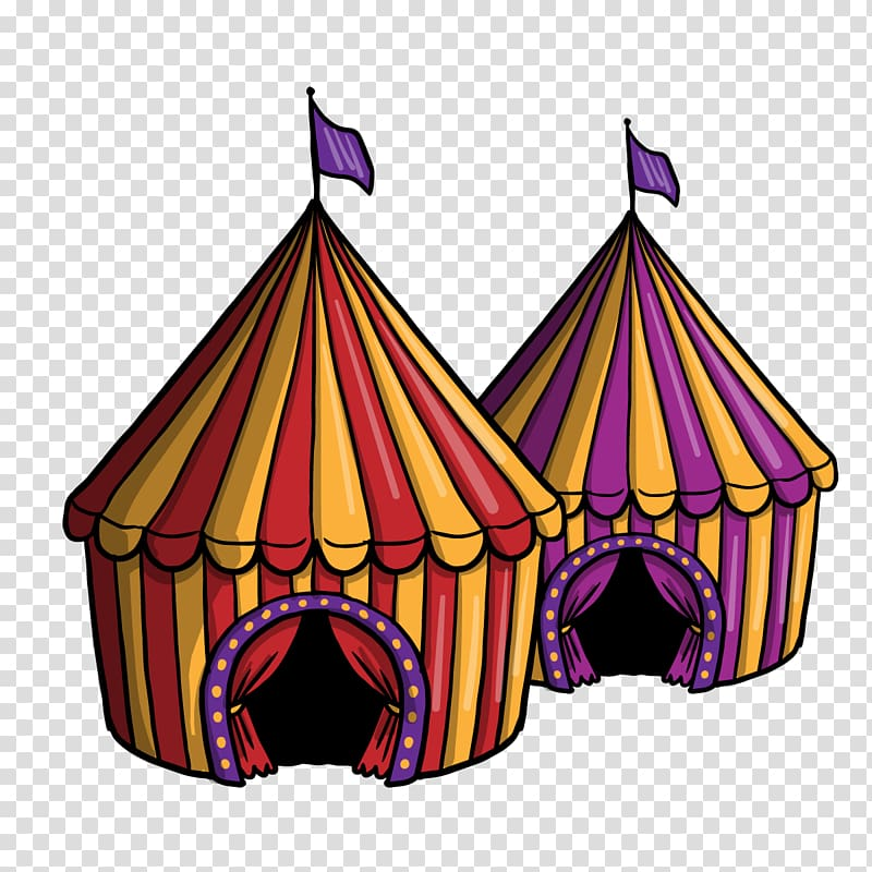 Performance Circus Tent Carpa, Circus transparent background PNG.