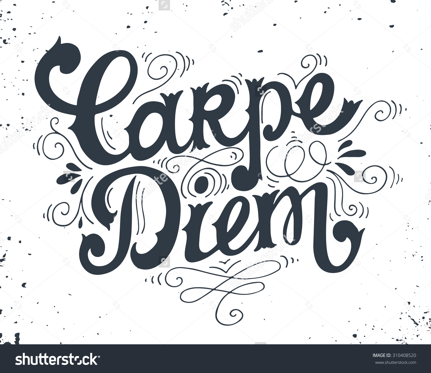 Seize the day clipart.