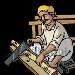 Carpenter clipart construction labour work, Carpenter construction.