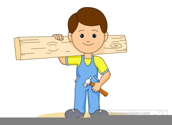 Carpenter clipart.