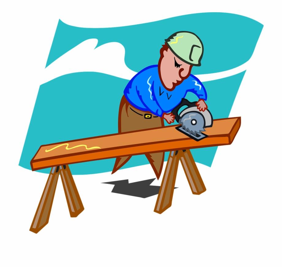 Craftsmen Schreiner Saw Wood Png Image.
