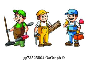 Carpenter Clip Art.