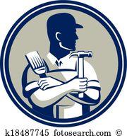 Carpenter Clipart Vector Graphics. 5,866 carpenter EPS clip art.