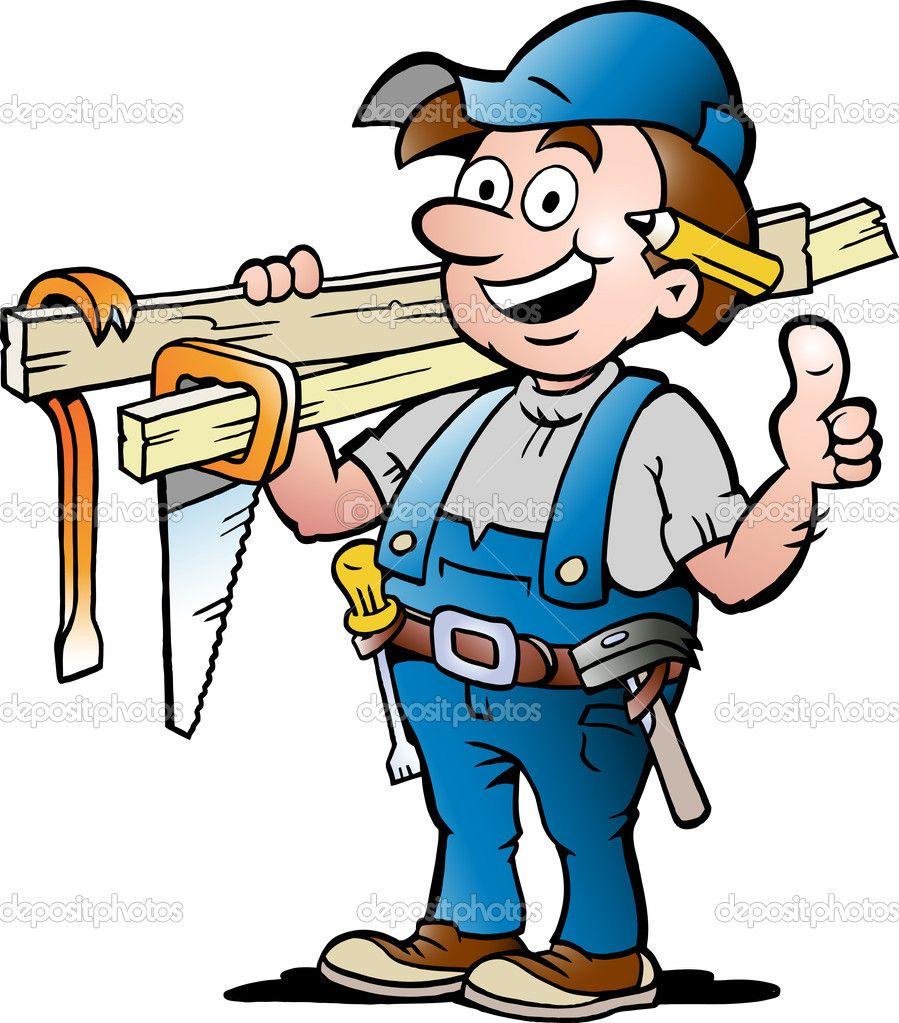 Carpentry clipart cartoon, Carpentry cartoon Transparent.