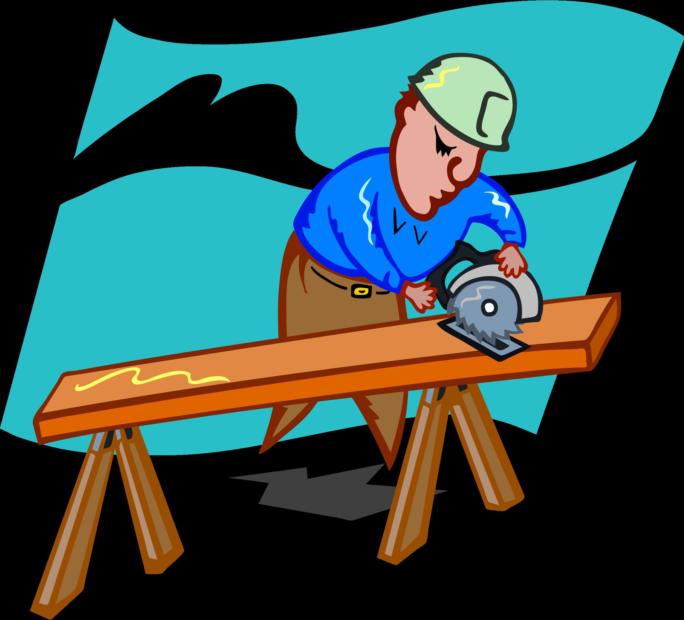 Carpentry Tools Clip Art Carpenter Clipart free image.
