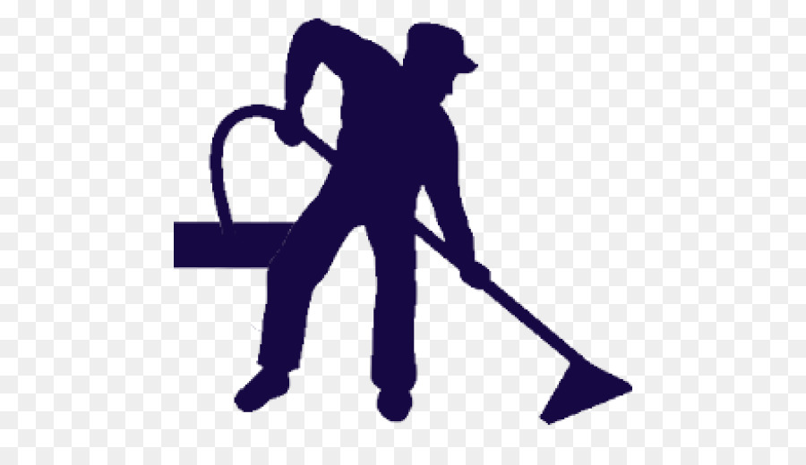 Carpet Cleaning Silhouette png download.