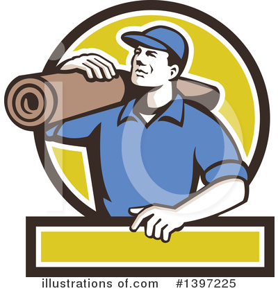 Carpet Installer Clipart #1068580.