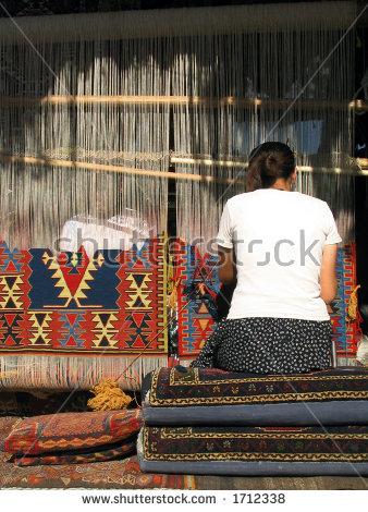 Carpet Looms Stock Photos, Royalty.