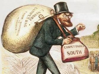 carpetbagger political cartoon.