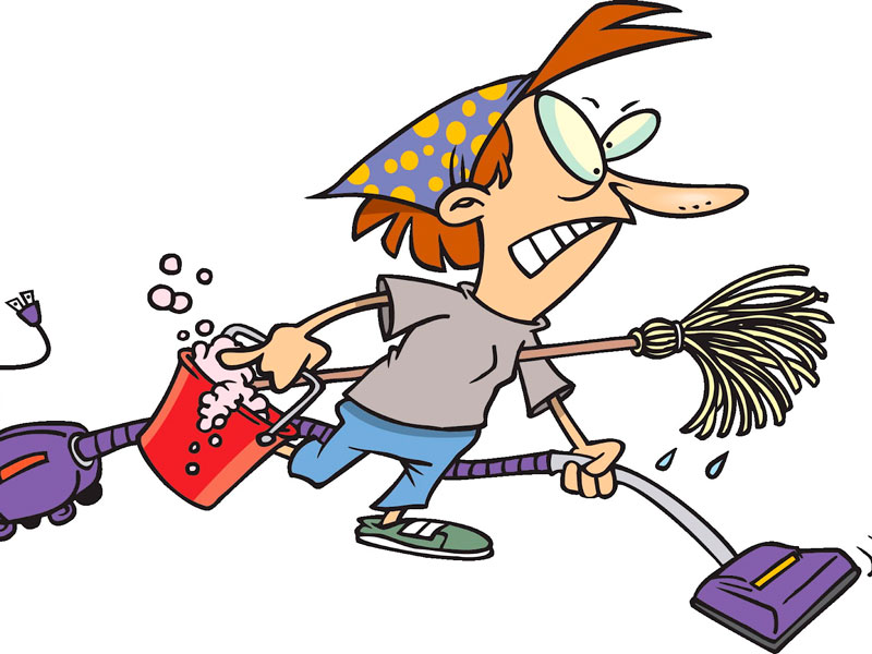 Carpet cleaning clipart.