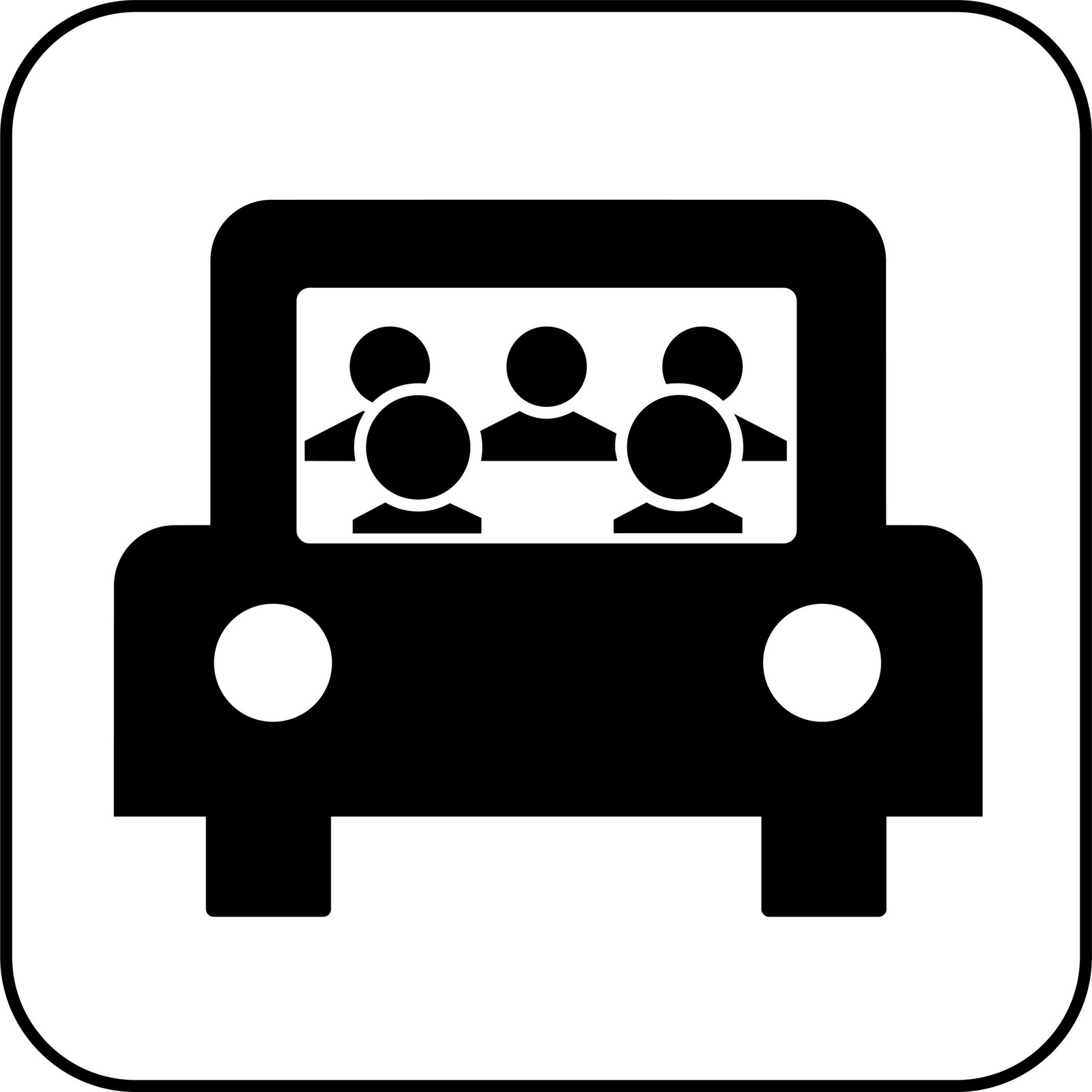 Carpool Clipart.