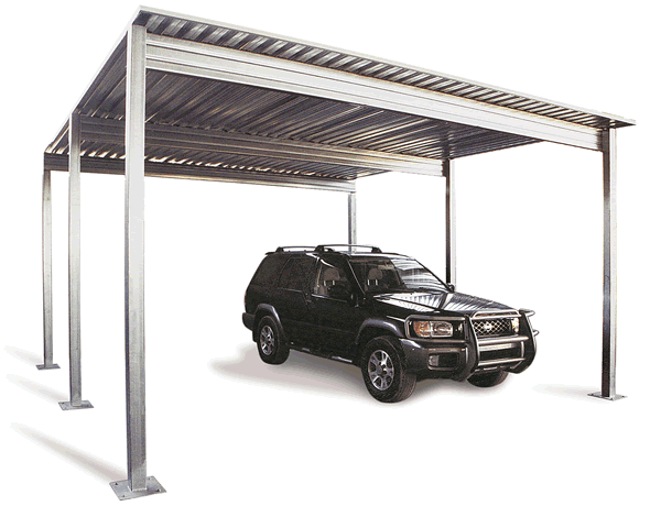 Bad weather, such as a storm may affect your metal carport. A bent.