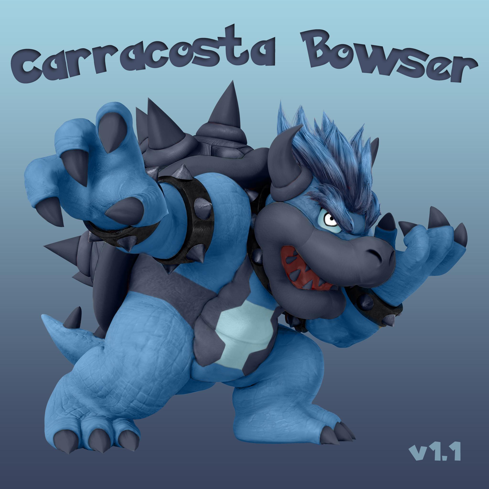 Carracosta Inspired Bowser (Super Smash Bros. for Wii U > Skins.