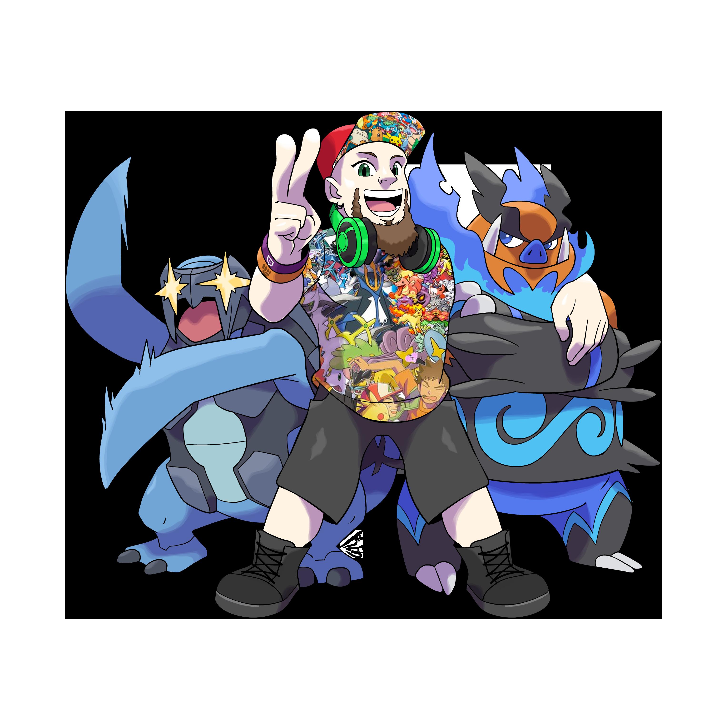 Pokemon Streamer x Carracosta x Shiny Emboar.