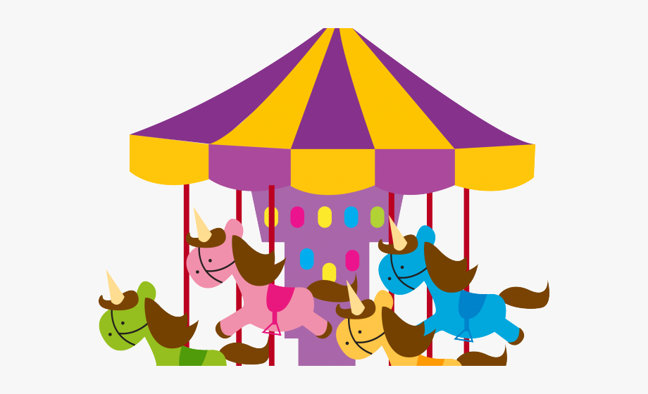 Carousel Clipart Kids Carnival Games, Cliparts & Cartoons.