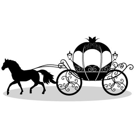 3,543 Horse And Carriage Stock Illustrations, Cliparts And Royalty.