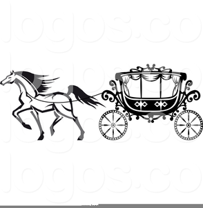 Horse Carriage Clipart.