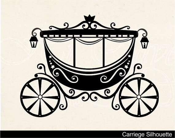 Cinderella Carriage Clipart.
