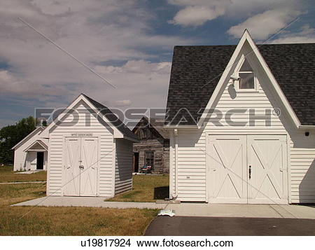 Stock Photo of Grand Forks, ND, North Dakota, Myra Museum and.