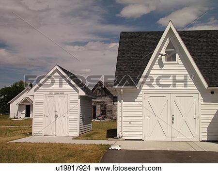 Stock Photo of Grand Forks, ND, North Dakota, Myra Museum and.