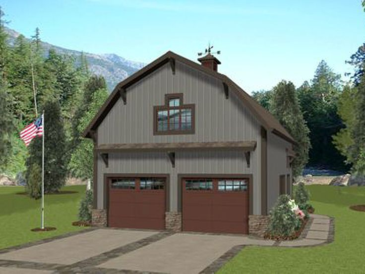 Carriage house clipart design.